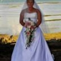 Beautiful white wedding dress for sale - Alfred Angelo