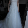 Front of dress -