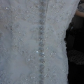 Back of dress - buttons -