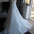 Back of dress -