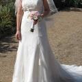 Lace wedding dress -